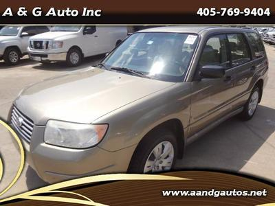 Used 2008 Subaru Forester 2.5X