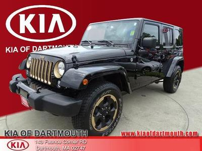 Used 2014 Jeep Wrangler Unlimited Sahara