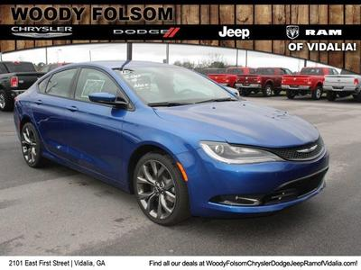 New 2015 Chrysler 200 S