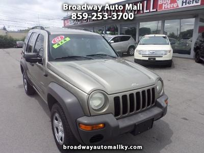 Used 2004 Jeep Liberty Sport