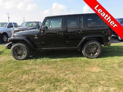New 2016 Jeep Wrangler Unlimited Sahara