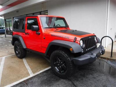 Used 2017 Jeep Wrangler Sport