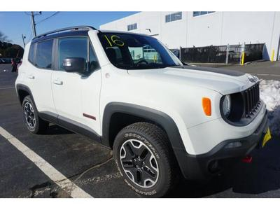 New 2016 Jeep Renegade Trailhawk