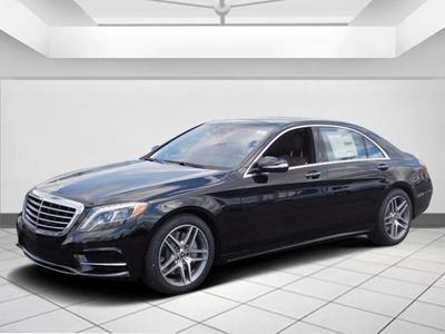 New 2017 Mercedes-Benz S 550 4MATIC