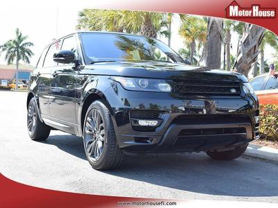 Used 2016 Land Rover Range Rover Sport Supercharged HST