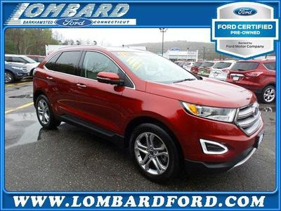 Certified 2016 Ford Edge Titanium
