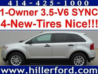 Certified 2013 Ford Edge SE