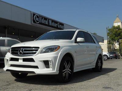 Used 2013 Mercedes-Benz ML63 AMG 4MATIC