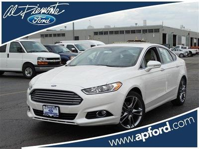 New 2016 Ford Fusion Titanium