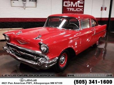Used 1957 Chevrolet 150 Business Sedan 283/270hp Dual Four Barrel Carbs