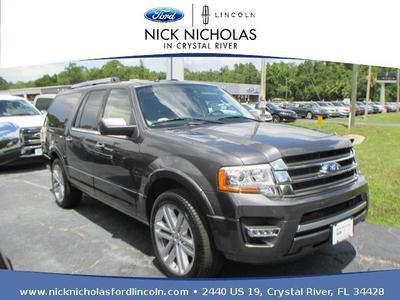 New 2017 Ford Expedition EL Limited