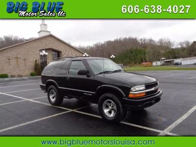 Used 2001 Chevrolet Blazer LS