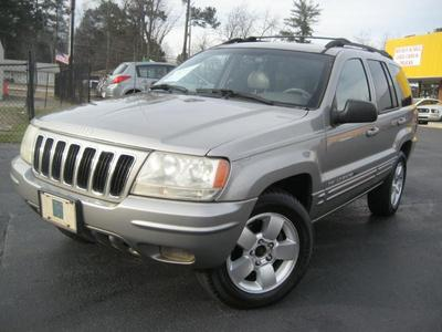 Used 2001 Jeep Grand Cherokee Limited