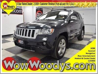 Certified 2012 Jeep Grand Cherokee Overland