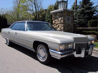 Used 1972 Cadillac DeVille