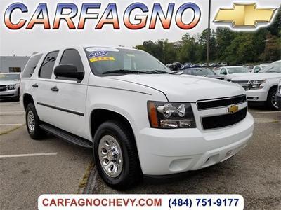 Certified 2012 Chevrolet Tahoe Commercial Fleet