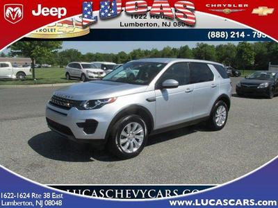 Used 2016 Land Rover Discovery Sport SE