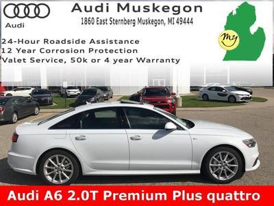 New 2018 Audi A6 2.0T Premium Plus