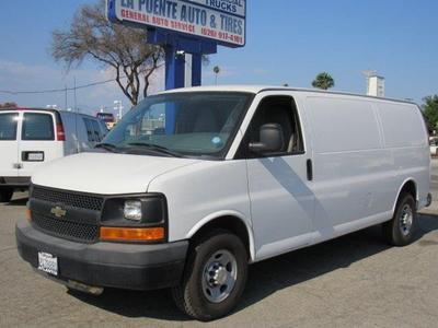 Used 2010 Chevrolet Express 3500 Work Van