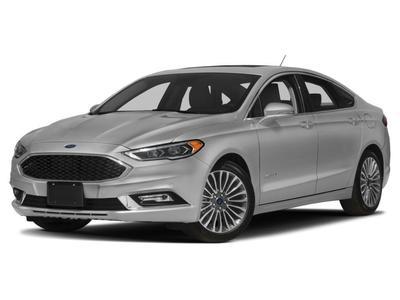 New 2017 Ford Fusion Hybrid Platinum