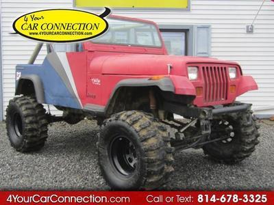Used 1989 Jeep Wrangler S