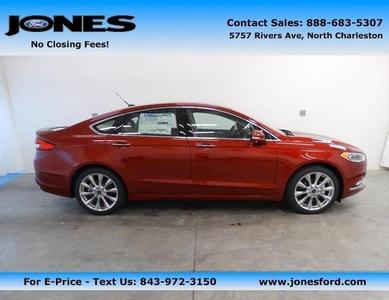 New 2017 Ford Fusion Platinum