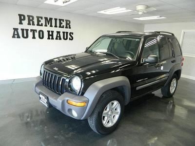 Used 2003 Jeep Liberty Sport