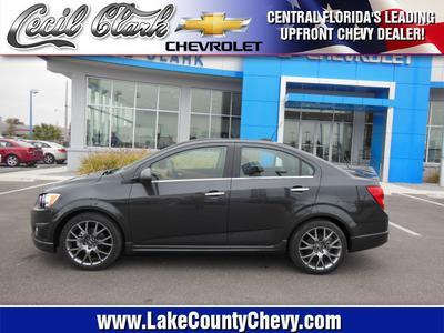 New 2015 Chevrolet Sonic LTZ