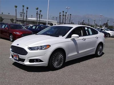 New 2015 Ford Fusion Titanium