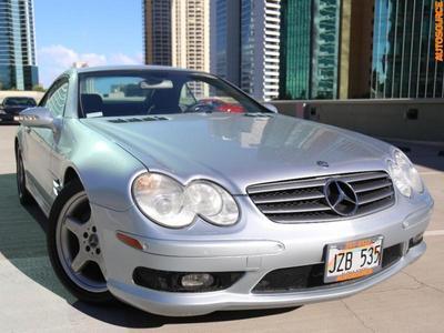 Used 2003 Mercedes-Benz SL500 Roadster