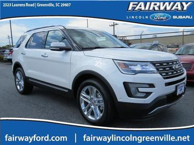 New 2016 Ford Explorer Limited