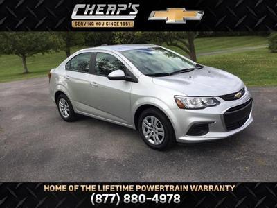 New 2018 Chevrolet Sonic LS