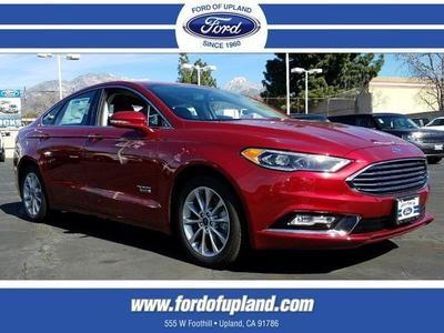New 2017 Ford Fusion Energi SE Luxury