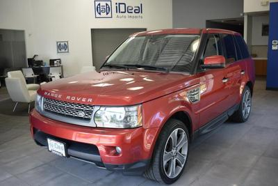 Used 2010 Land Rover Range Rover Sport Supercharged