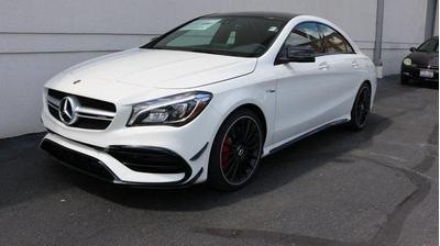 New 2018 Mercedes-Benz AMG CLA 45 Base 4MATIC