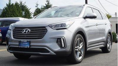 Certified 2017 Hyundai Santa Fe Limited Ultimate