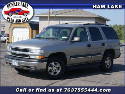 Used 2003 Chevrolet Tahoe Special Service