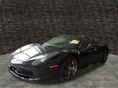 Used 2013 Ferrari 458 Spider Base