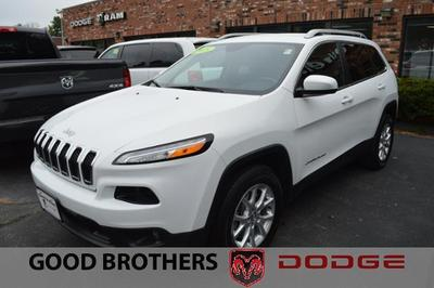 Certified 2015 Jeep Cherokee Latitude