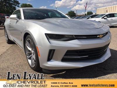 New 2017 Chevrolet Camaro 1LT