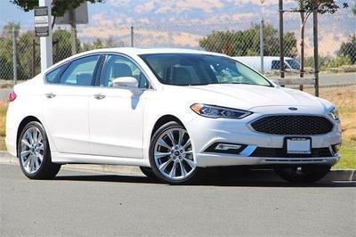New 2017 Ford Fusion Platinum