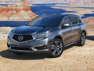 New 2017 Acura MDX 3.5L w/Advance & Entertainment Pkgs