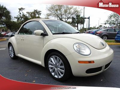 Used 2008 Volkswagen New Beetle SE