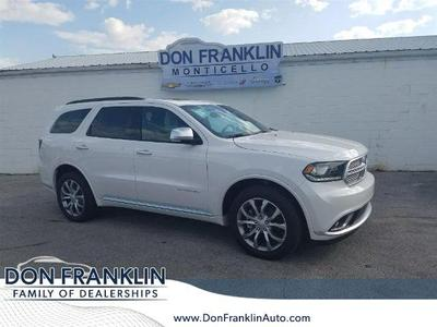 New 2017 Dodge Durango Citadel Anodized Platinum