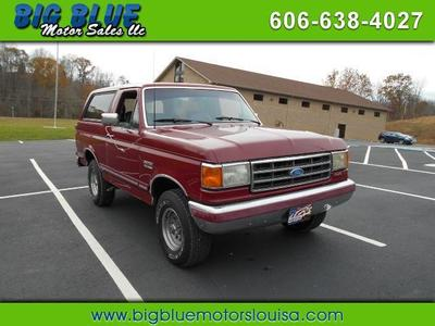 Used 1991 Ford Bronco Base