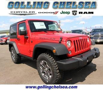 New 2017 Jeep Wrangler Rubicon