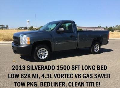 Used 2013 Chevrolet Silverado 1500 Work Truck
