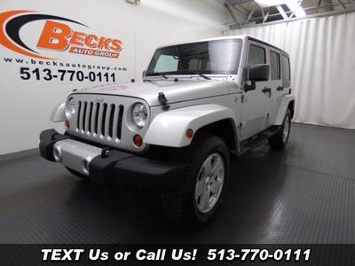 Used 2012 Jeep Wrangler Unlimited Sahara