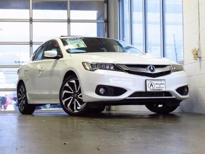 New 2017 Acura ILX Technology Plus & A-SPEC Packages