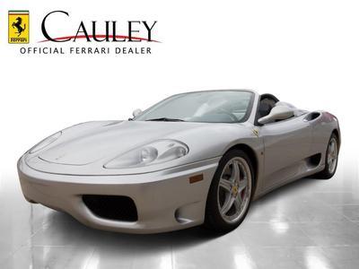 Used 2002 Ferrari 360 Spider